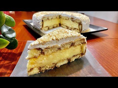 Download Ëmbëlsira më e Thjesht në Botë pa Pjekje për 15 Minuta  / Vanilla Cake !!!