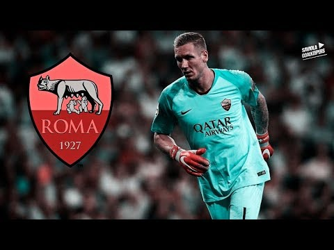 Robin Olsen 2018/19 ► INSANE SAVES 2019 - AS Roma - HD