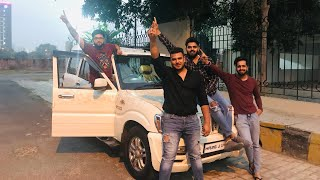 Driving My Friend's Mahindra Scorpio | Ft The Real One | Mahindra Scorpio User Review