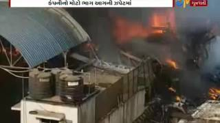 Salvas: Fierce fire in the Pipariya's Hamilton Company_Etv News Gujarati