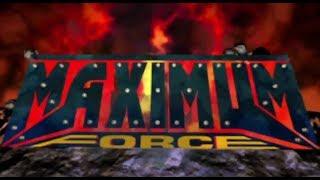 Maximum Force (Arcade) - Full Playthrough