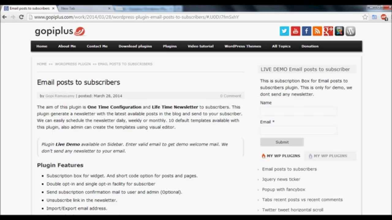 how to add subscriber to wordpress