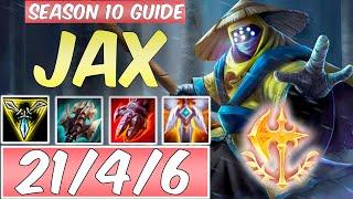 LEARN HOW TO PLAY JAX SEASON 10 | BEST Build & Runes | Season 10 Jax guide