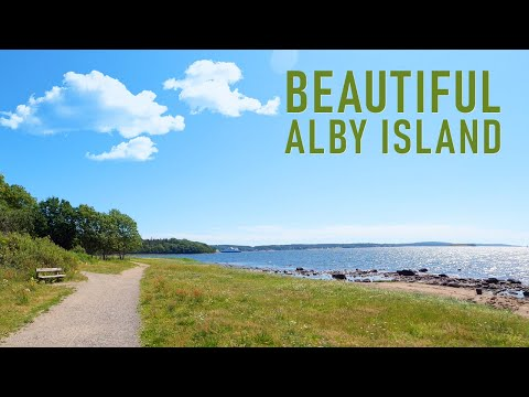 Virtual Run | Alby Island | Treadmill Scenery Workout | Treadmill Walk