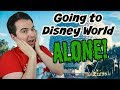 Going to Disney World by yourself 😱