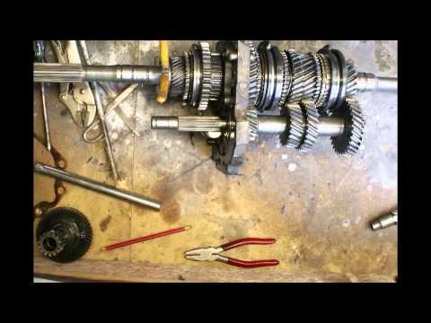 Toyota 5 speed w50 gearbox bearing removal time laps