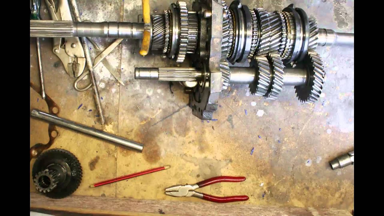 hight resolution of toyota 5 speed w50 gearbox bearing removal time laps