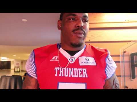 Portland Thunder Media Day: Marquis Jackson