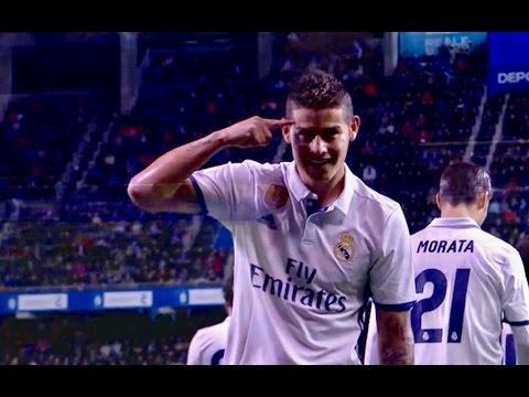 Deportivo de La Coruña 2-6 Real Madrid | Goals | COPE | Liga 2017
