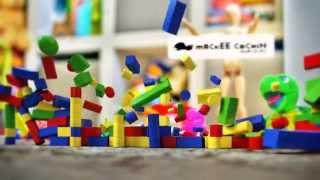 子供の頃に、作っては壊していた積み崩し。 MODOを使用して再現してみた...