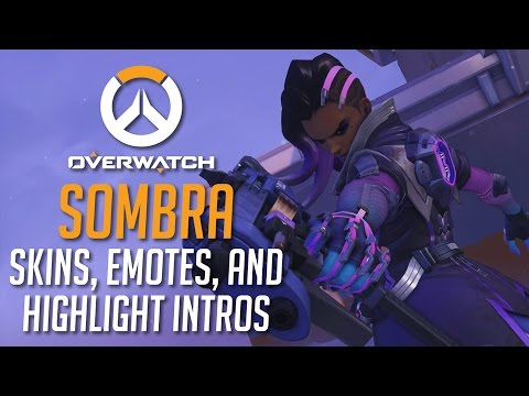 Every Sombra Skin, Emote, And Highlight Intro