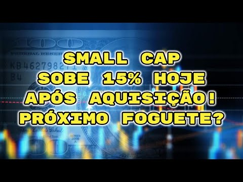 SMALL CAP EXPLODE 15% NO DIA COM AQUISIÇÃO! FOGUETE DECOLANDO!