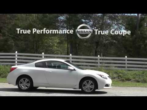 Nissan Altima Coupe Car Commercial