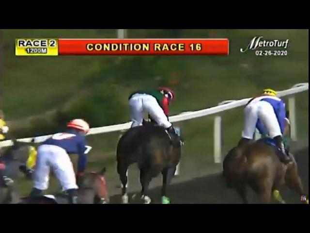 GINTONG LAWIN - FEBRUARY 26, 2020 - MMTCI RACE 2 BAYANG KARERISTA HORSE RACING REPLAY AT METRO TURF