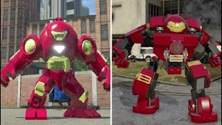 Iron Man Hulkbuster Armor - LEGO Marvel Super Heroes Vs. LEGO Marvel