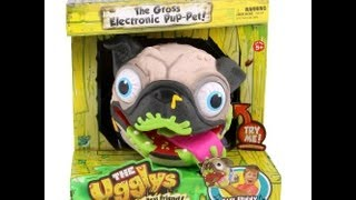 The Ugglys Pug Electronic Pet - Kidtoytesters