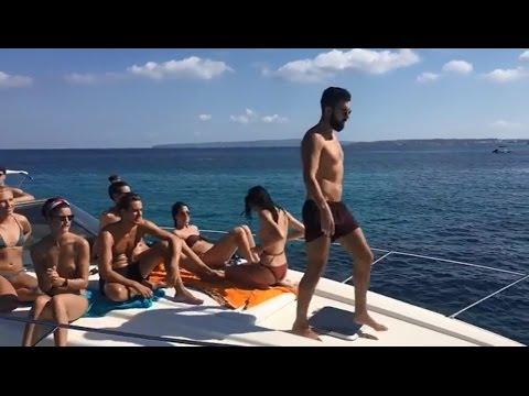 Sunseeker yacht rental Ibiza CharterAlia