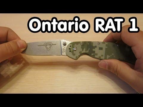 Копия ножа Ontario RAT 1 - обзор посылки с Aliexpress