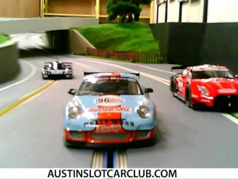 Austin Slot Car Club Racing Small Cars In The Big State Youtube