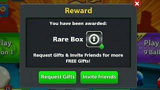 8 Ball Pool Reward Links // RARE BOX + Coins   //سارع للحصول على روابط هدايا مجانا في 8 بال بول