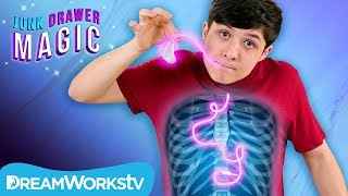 Swallowing Headphones | JUNK DRAWER MAGIC