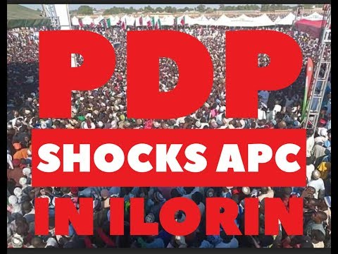 PDP Did This In Ilorin And Surprised The World, But APC Is Still Under Confusion