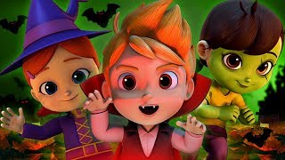 Halloween malam | Lagu Anak-Anak | Halloween kostum | Halloween Night In English | Kids Tv Indonesia
