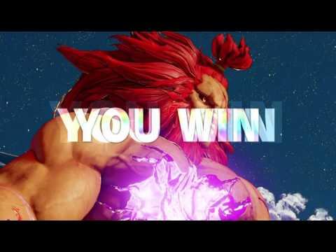 STOLE THE MATCH (Akuma V-trigger air fireball beats Juri EX pinwheel)