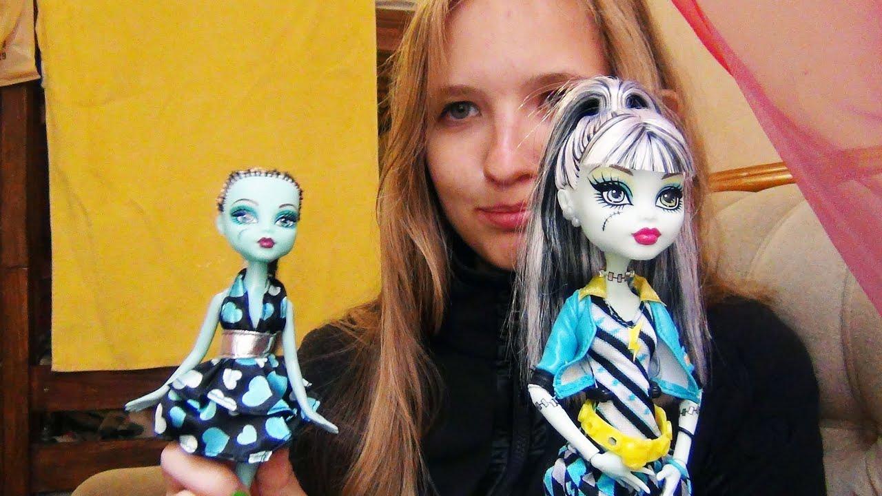 Как укрепить разболтанные шарниры в бедрах куклы Monster High .
