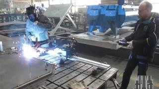 видео Автоматическая сварка металлов