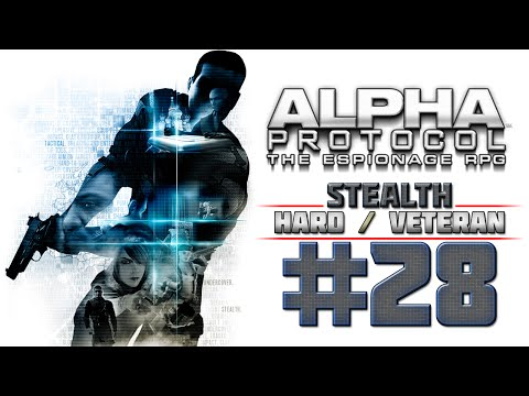 Alpha Protocol Walkthrough (4k PC) HARD / VETERAN - Part 28 - TAIPEI - Investigate Warehouse
