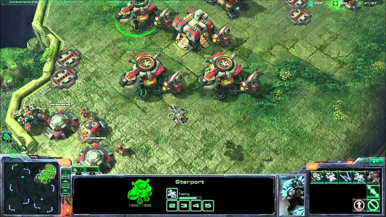 How To Set Ultra Graphics: StarCraft 2 Ultra Textures Extreme Graphics 1v1 Very Hard