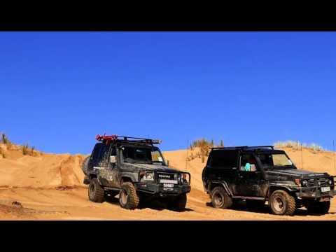 4WD New Zealand: Ahipara to Herekino Trip Video