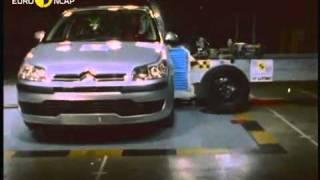 Краш тест Citroen C4 2004 (E-NCAP)