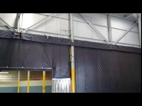 47 Morton Ave, Brantford, ON - Vid of  warehouse curtain