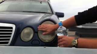 DIY: Mercedes-Benz E55 AMG Headlight Restoration with Toothpaste