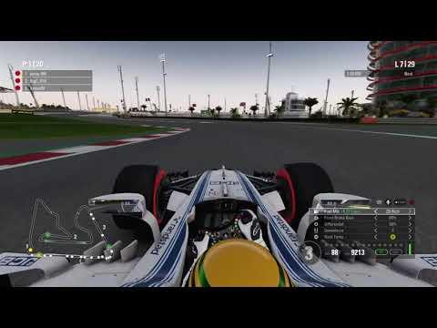 F1 2017 - AOR Evaluation Race #3 Bahrain - Full Race