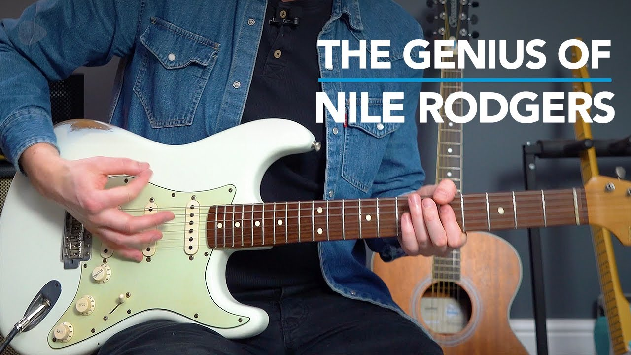 """Chic """"Le Freak"""" Guitar Lesson - Nile Rodgers Style Funk Strumming"""