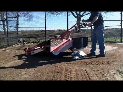 Ball Field Soil Cleaning