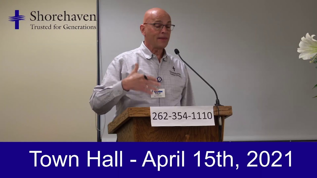 Town Hall 4-15-21
