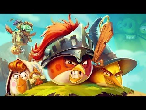 Энгри Бердс эпик #2 Angry Birds Epic злые птички Мультик игра