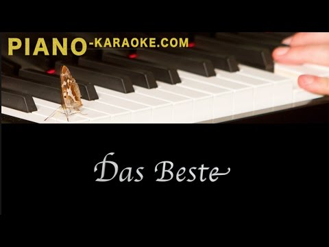 Das Beste- Silbermond (piano karaoke demo version)