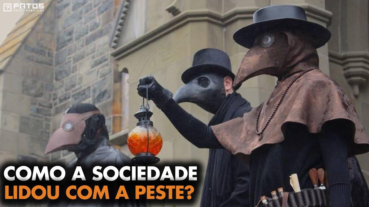 Como era viver na época da peste negra?