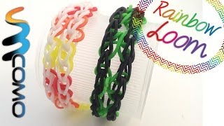 Repeat youtube video Rainbow Loom - Pulseira de Trevos