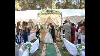 Свадьба в шатре и выездная регистрация.