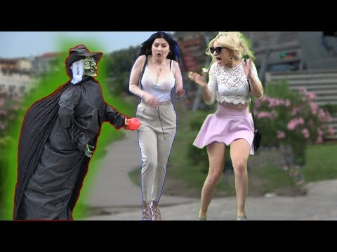 SCARY HALLOWEEN GHOST PRANK #2  - AWESOME REACTIONS - Best of Just For Laughs