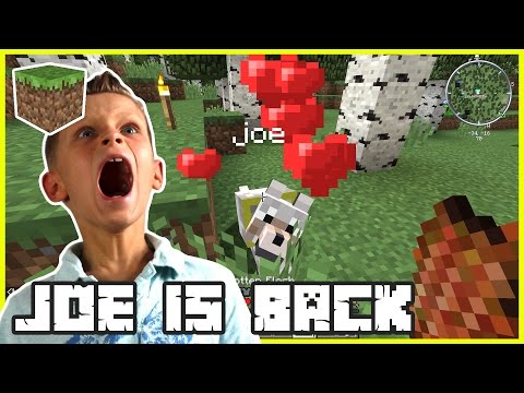 10k Subscriber Special / My Dog Joe is Back / Minecraft