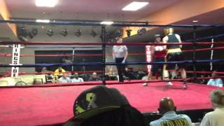 Steven Zaiden Round 3 Golden gloves 2013