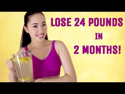 LOSE WEIGHT FAST WITH GINGER & LEMON WEIGHT LOSS DETOX TEA