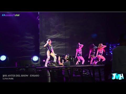 Acceso Total al show de Tini en el Luna Park
